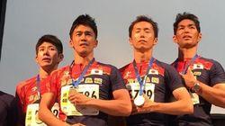 武井壮「夢をつかめた!」世界マスターズ陸上のリレーで金メダル