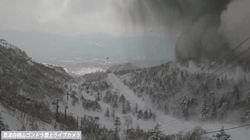 草津白根山、噴火の瞬間がYouTubeでライブ配信されていた