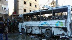 シリア首都で連続テロ、71人死亡か