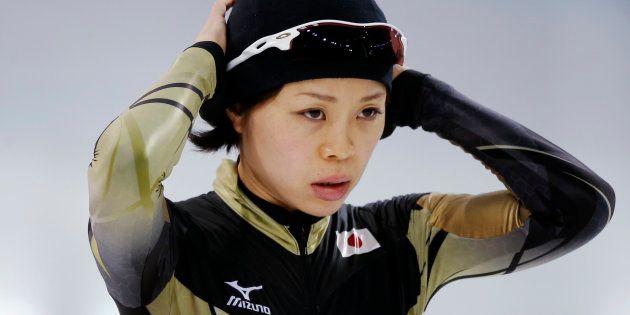 ソチオリンピックに出場した住吉都選手 (RUSSIA - Tags: SPORT OLYMPICS SPEED