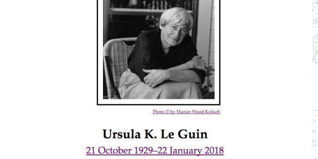 『ゲド戦記』作者が死去。アーシュラ・K・ル・グウィンさん、88歳。ジブリに苦言「物語に一貫性がない」