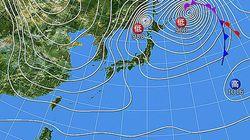 1月24日は過去最強クラスの寒波 日本海側は大雪や猛吹雪に警戒を