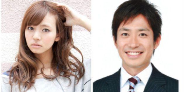 にわみきほ&田中毅アナが結婚「毎日とても幸せな日々」 11月29日に ...