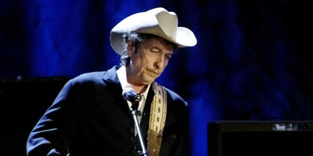 Rock musician Bob Dylan performs at the Wiltern Theatre in Los Angeles in this May 5, 2004 file photo....
