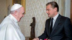 レオナルド・ディカプリオさんがローマ法王に面会、何を話した?【画像】