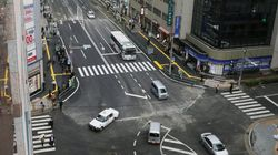博多駅前の陥没、1週間ぶりに通行再開。復旧までの過程をGIFアニメで