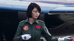 中国、女性初の「殲10」パイロットが訓練中に事故死