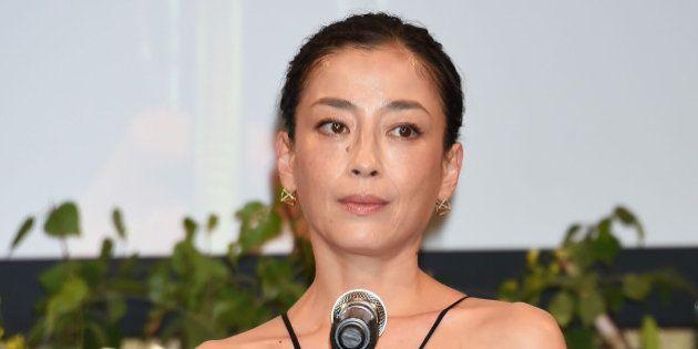 TOKYO, JAPAN - JULY 07: Actress Rie Miyazawa attends the Hoso Bunka Foundation Prize on July 7, 2015...