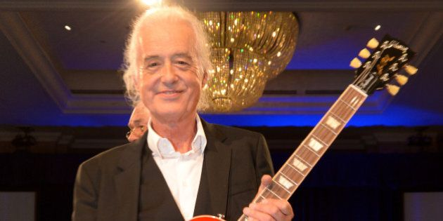 Jimmy Page attends the Nordoff Robbins O2 Silver Clef Awards 2014 at the Hilton Hotel in London on Friday,...