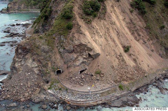 【ニュージーランド大地震】幹線道路が土砂崩れで寸断、堤防も決壊 M6規模の余震相次ぐ