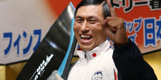オードリー春日「金メダルでなければ帰らない」と決意。2年連続でフィンスイミング日本代表に