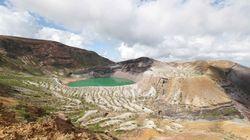 蔵王山で火山活動に高まり 山頂の南側が隆起