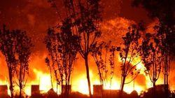 天津大爆発で44人死亡、工業地帯が火の海に(動画・写真)