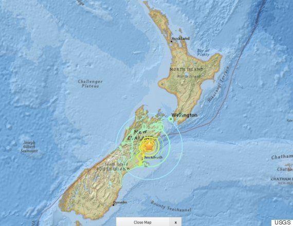 ニュージーランドでM7.8、首都で強い揺れ「道ばたで泣き叫ぶ人も」