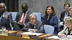 アントニオ・グテーレス国連事務総長の発言 -