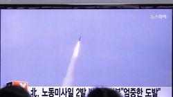 北朝鮮が弾道ミサイルを発射 日本海に着弾