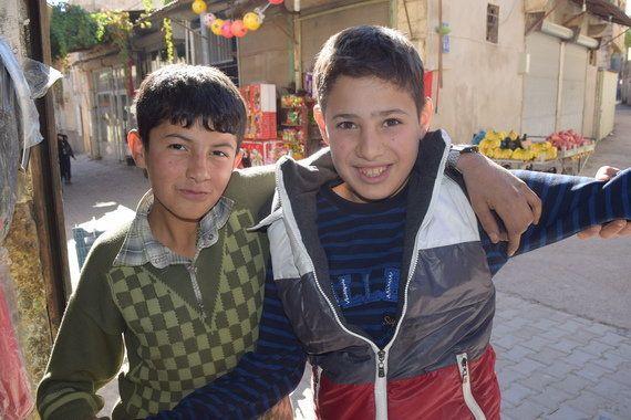 シリアとの国境の町で私が目にしたもの