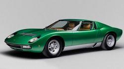 【ランボルギーニ・ミウラSV】完璧に修復された量産前試作車、その美しい姿