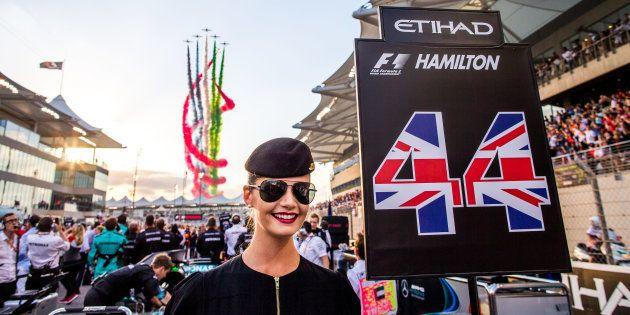 2017年11月、アブダビF1グランプリ