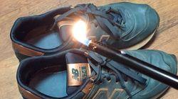 「反トランプ」でニューバランスのスニーカーを燃やす人が続出 なぜ?