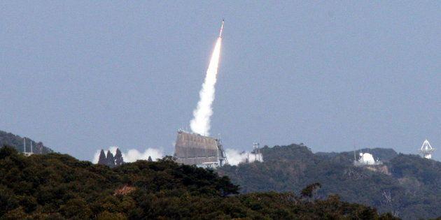 午後2時3分に打ち上げられた「SS-520」5号機