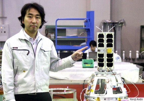 超小型衛星、愛称は「たすき」 宇宙に向かって、たすきつなぐ想い