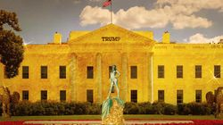 「トランプ大統領になったらホワイトハウスはこうなる」雑コラ大会で盛り上がる