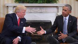 トランプ氏「オバマはすごくいい男だ」