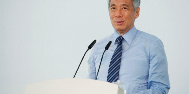 Singapore's Prime Minister Lee Hsien Loong speaks in Singapore September 2, 2014. Lee has been diagnosed...