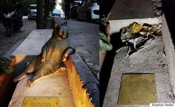 トルコで愛された猫の銅像が盗まれる
