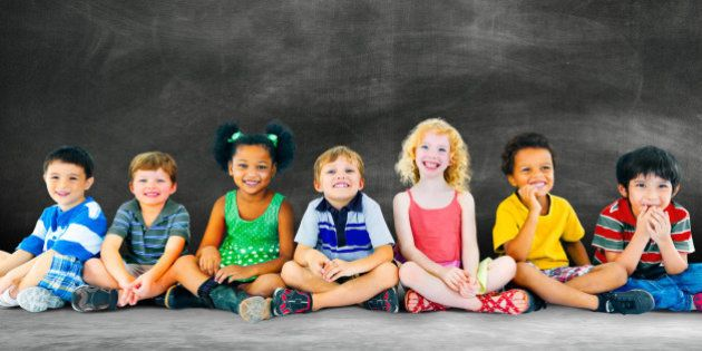 Kids Children Diversity Happiness Group Education