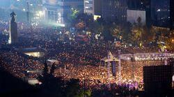 韓国で100万人規模の抗議集会へ 朴槿恵大統領の辞任求める声強まる