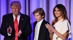 バロン・トランプ君に同情集まる。新大統領の末っ子は10歳(画像集)