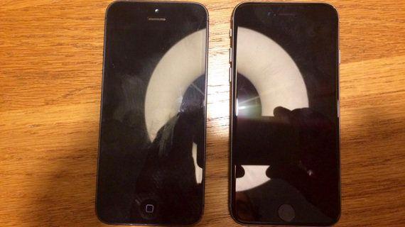 4インチ版 iPhone は
