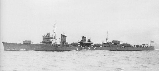 駆逐艦「磯風」(日本海軍艦艇写真集 駆逐艦