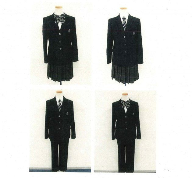 「柏の葉中学校」制服の原案