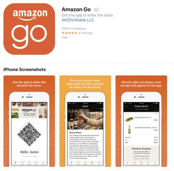 AmazonGo体験記。AI時代のリテールUX。