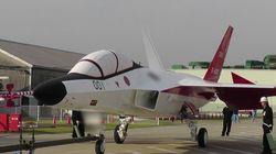 「心神」国産初のステルス戦闘機 2月中旬以降に初飛行 1月28日に報道陣に公開