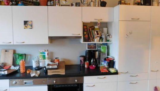 猫がキッチンに隠れてるって?