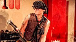 ジョニー・デップの日本初ライブ決定 ジェフ・ベック、
