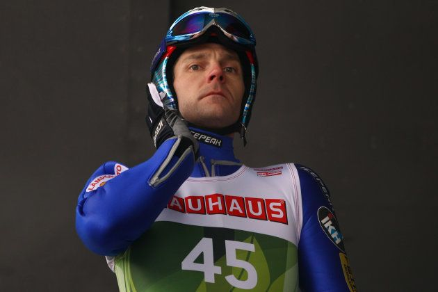 INNSBRUCK, AUSTRIA - JANUARY 02: Janne Ahonen of Finland prepares for the training for the FIS Ski Jumping...