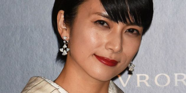TOKYO, JAPAN - NOVEMBER 29: Actress Ko Shibasaki attends the Bvlgari Avrora Awards at the Midtown Square...