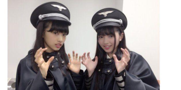 欅坂46のナチス風衣裳、イスラエル大使館がソニー側と対話へ「メンバーに悪意ない」