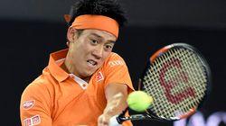 錦織圭、全豪テニス5年連続16強入り【画像集】