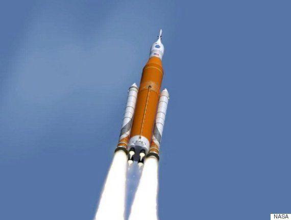 NASA、火星有人飛行用ロケットエンジンをテスト
