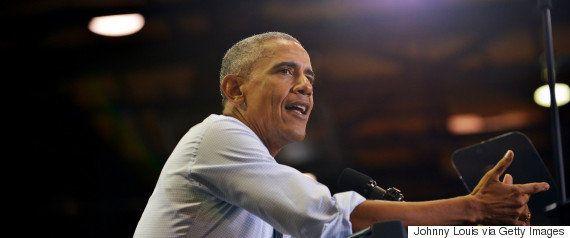 オバマ大統領の演説中、トランプ氏支持者が登場 ブーイングを飛ばす聴衆に......(動画)