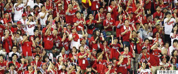 広島カープ、41年ぶりの優勝パレード 黒田・新井らに31万人が歓声(画像集)