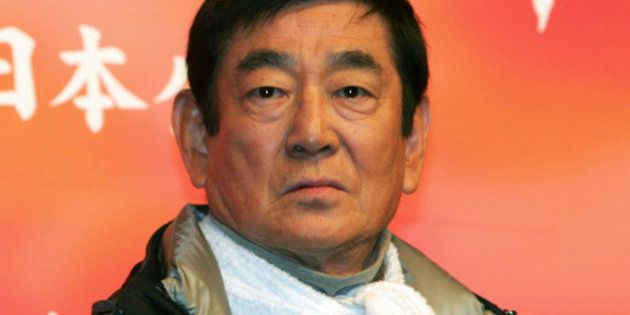 FILE - In this Tuesday, Feb. 22, 2005 file photo, Ken Takakura, the main actor in his latest
