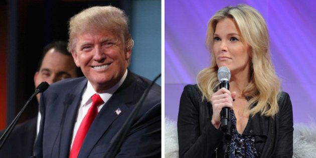 (FILE PHOTO) In this composite image a comparison has been made between Donald Trump (L) and Megyn Kelly...