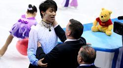 平昌オリンピック「ぬいぐるみ戦争」勃発か。羽生結弦はプーさん、一方ハビエル・フェルナンデスは…